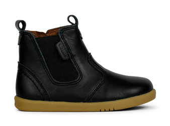 Bobux I Walk Jodhpur Black Leather boots
