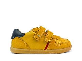 Bobux I Walk Riley Chartreuse Leather Shoes