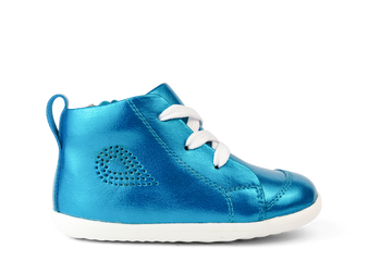 Bobux Step Up Alley-Oop Peacock Leather Boot