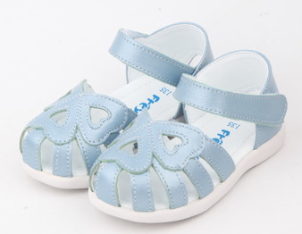 Freycoo Nel Blue Leather Sandals