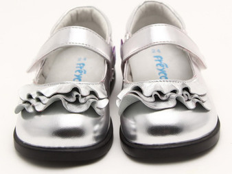 "Freycoo ""Mathilda"" Silver Shoes Aus 4.5 only"