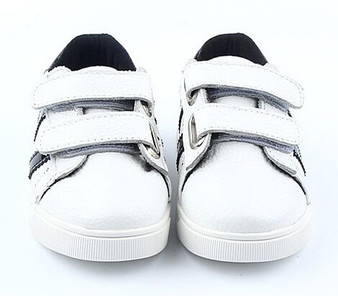 "Freycoo ""Swish"" White Leather Shoes"