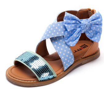 "Snoffy ""Jayne"" Blue Sandals Aus 1.5 only"