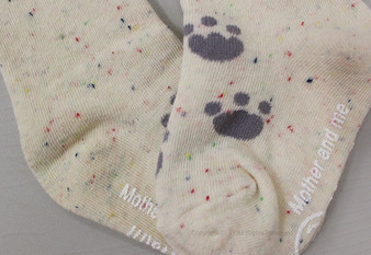 Mother and Me Bear Knee High Socks 2 Colours