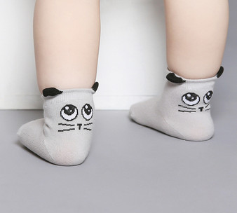 Kids Clara Cute Eye Socks 3 Colours