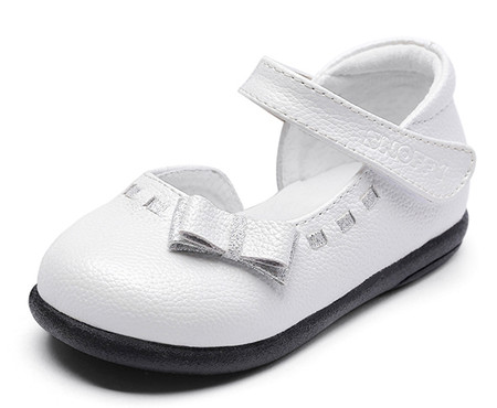 """Snoffy """"Brooke"""" White Leather Shoes"""