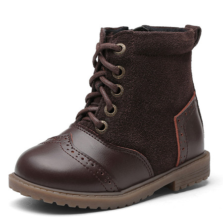 """Snoffy """"Boho"""" Brown Leather Boots"""