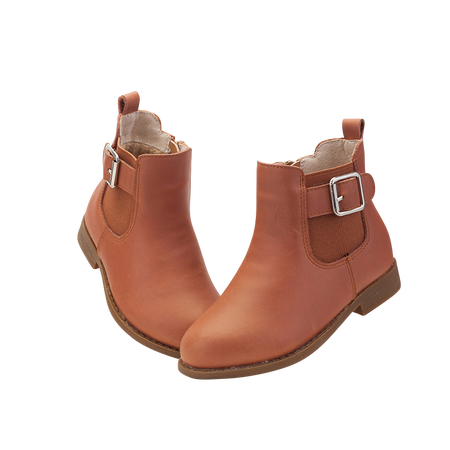 """TS """"Flo"""" Caramel Leather Ankle Boots Aus 11 only"""