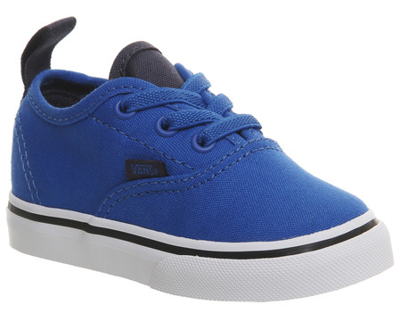 Vans Authentic Elastic Lace Imperial Blue Toddler Shoes Aus 3 only