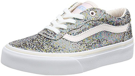 9ddab8a9644c Vans Milton Multi Glitter Youth Shoes - Kids Got Sole