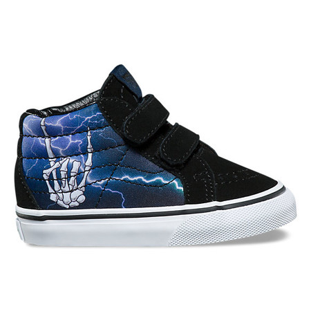 Vans SK8-Mid Rocker Bones Re Issue Toddler Shoes
