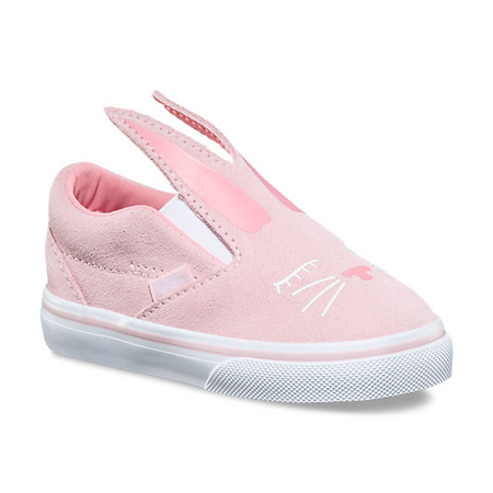 2abc8d87c7 Vans Slip-On Bunny Chalk Pink Girls Toddler Shoes - Kids Got Sole