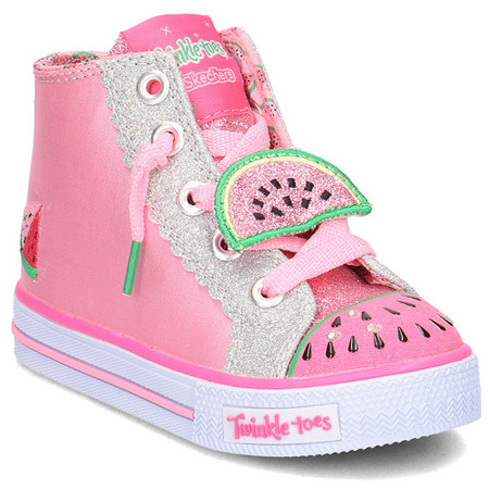 uk availability d6dbb 448c4 Skechers Twinkle Toes Patch Party girls Light Ups - Kids Got Sole