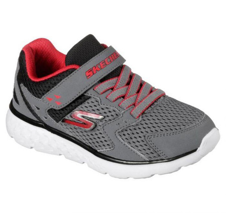 Skechers Go Run 400 Proxo Boys Charcoal Sneakers