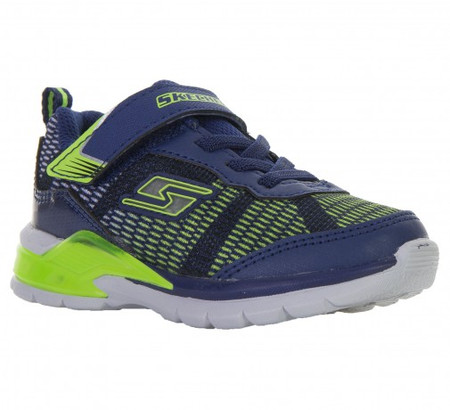 Skechers Erupters II Lava waves light up toddler boys  Runners