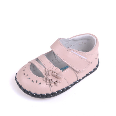 """Caroch """"Lacie"""" Pink Leather Soft Sole Shoes"""