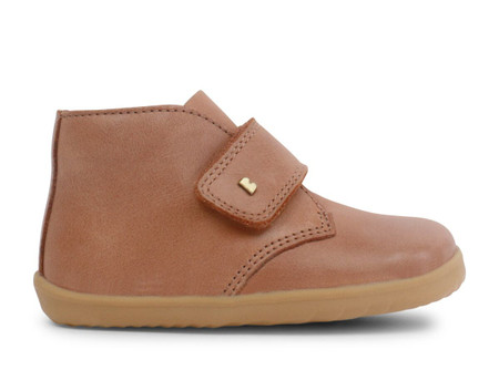Bobux Step Up Desert Caramel leather Boot