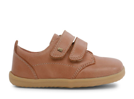 Bobux Step Up Port Caramel Dress Shoe