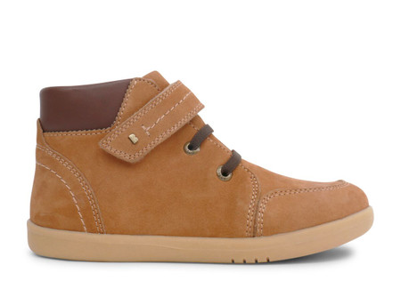 Bobux Kid Plus Timber Leather Mustard Boots