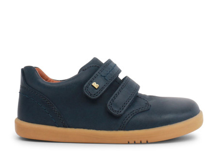 Bobux I Walk Port Navy Leather Shoe