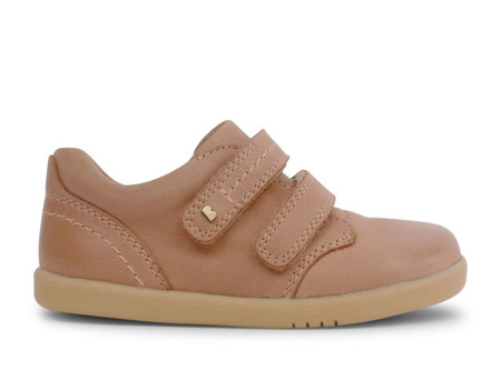 Bobux I Walk Port Caramel Leather Shoe
