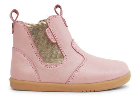Bobux I Walk Jodhpur Blush Shimmer Leather boots
