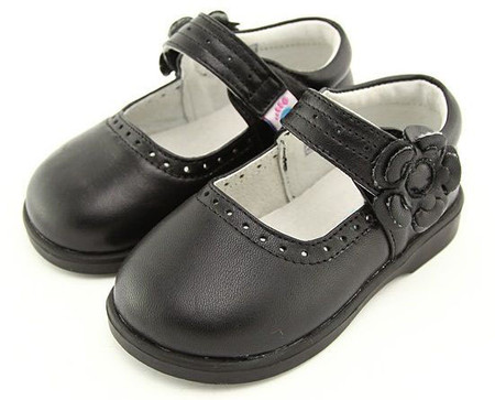 """Freycoo """"Willow"""" Black Leather Shoes"""