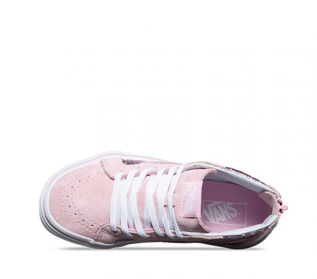 0246ef935b Vans Girls SK-8 Metallic Heart Pink Kids Shoes Aus 12   4 only ...