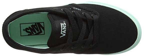 0d33989d8e9e39 Vans Atwood Black Bay Girls Shoes - Kids Got Sole