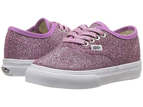 97a60d42d11 Vans Authentic Lurex Glitter Pink Girls Shoes - Kids Got Sole