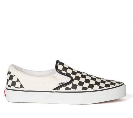 797a09448f4a Vans Classic Checkerboard Slip Ons - Kids Got Sole