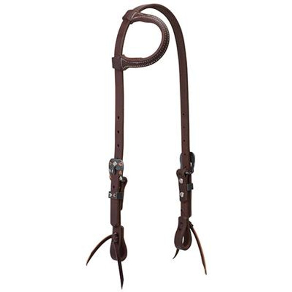 Weaver Chevron Buckle Earloop Headstall