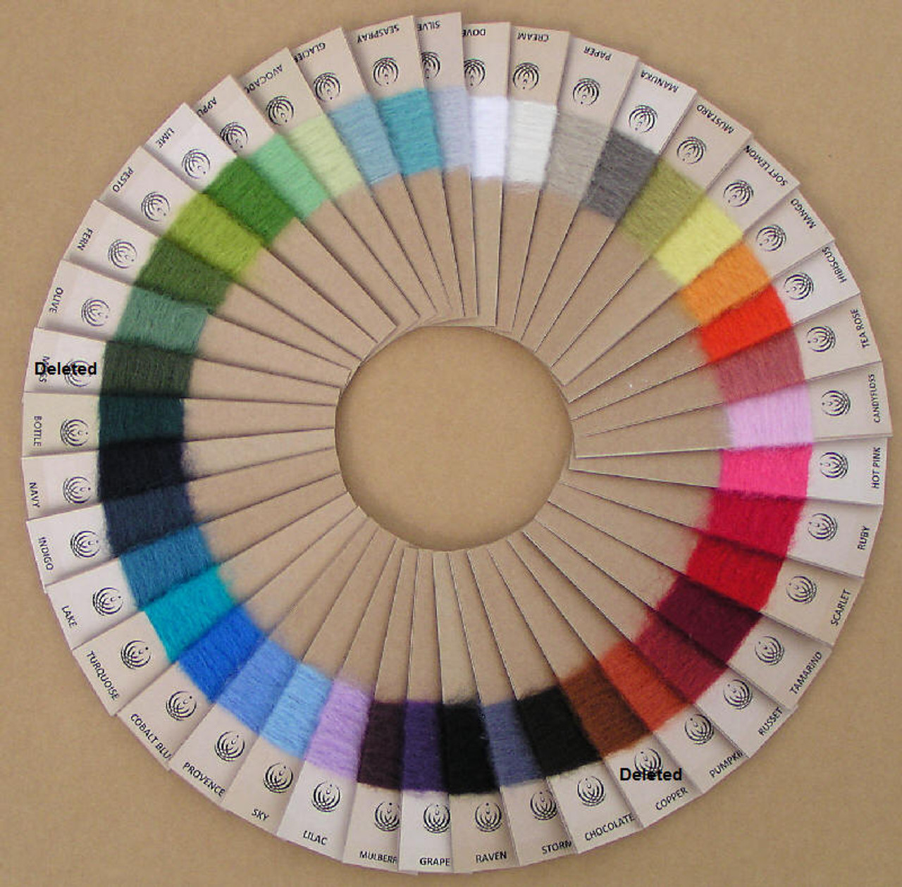 Colour Swatch Wheel
