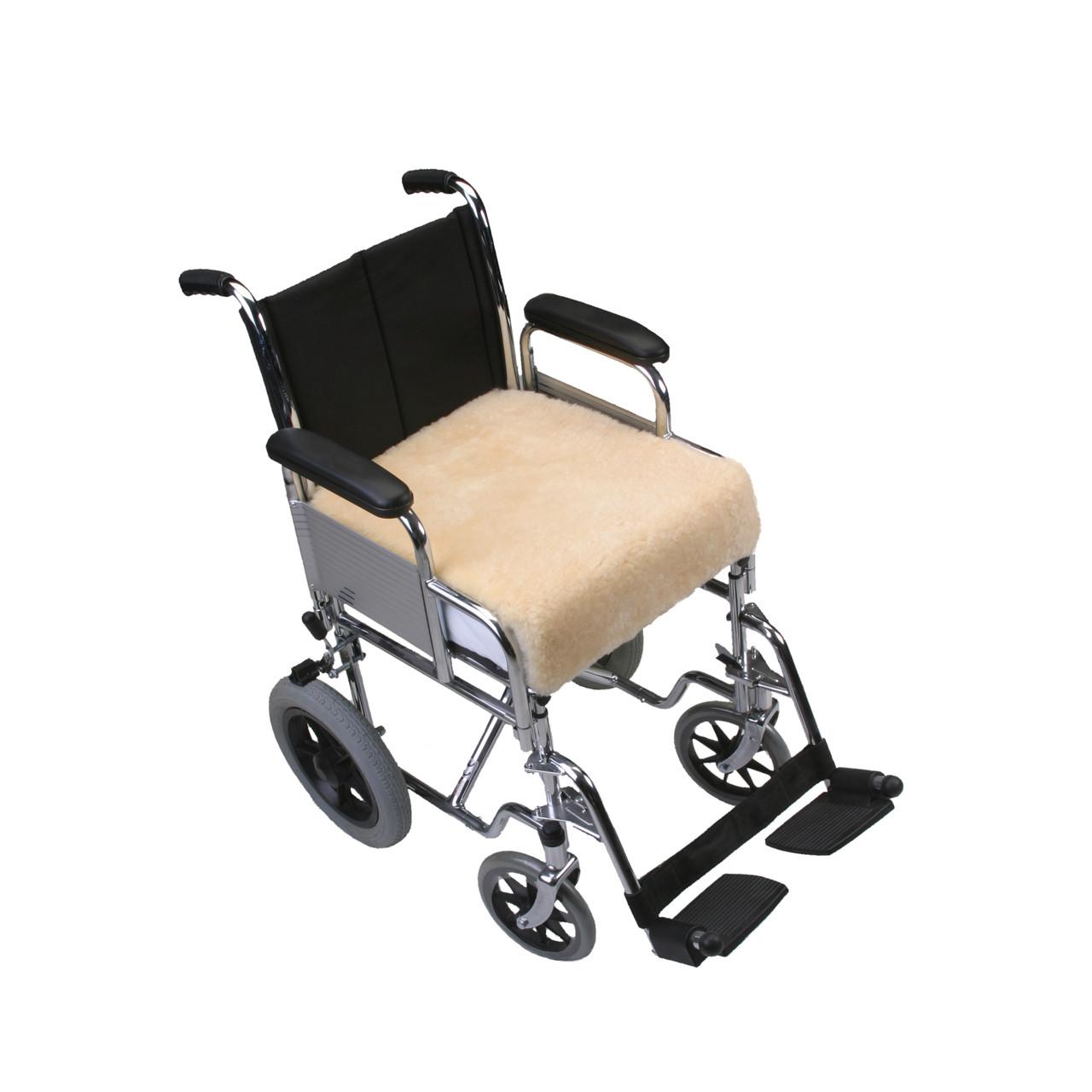 Wheelchair Sheepskin Padded Seat