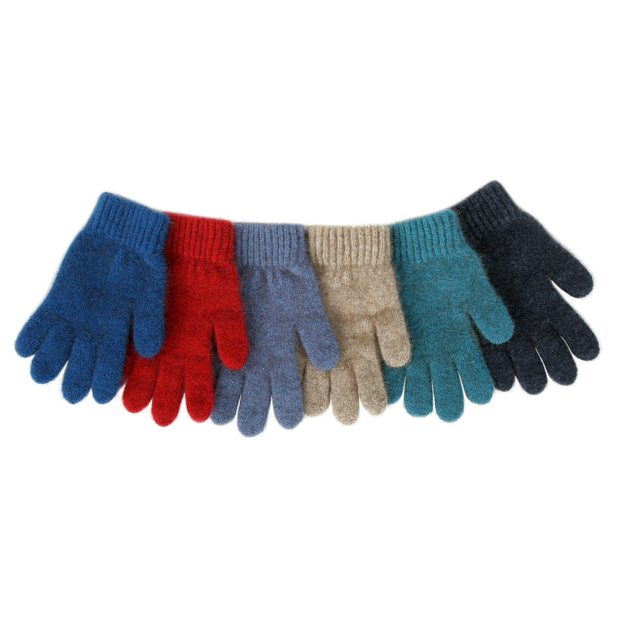 Cozy Kiwi Child's Plain Gloves - Possum Merino CK601