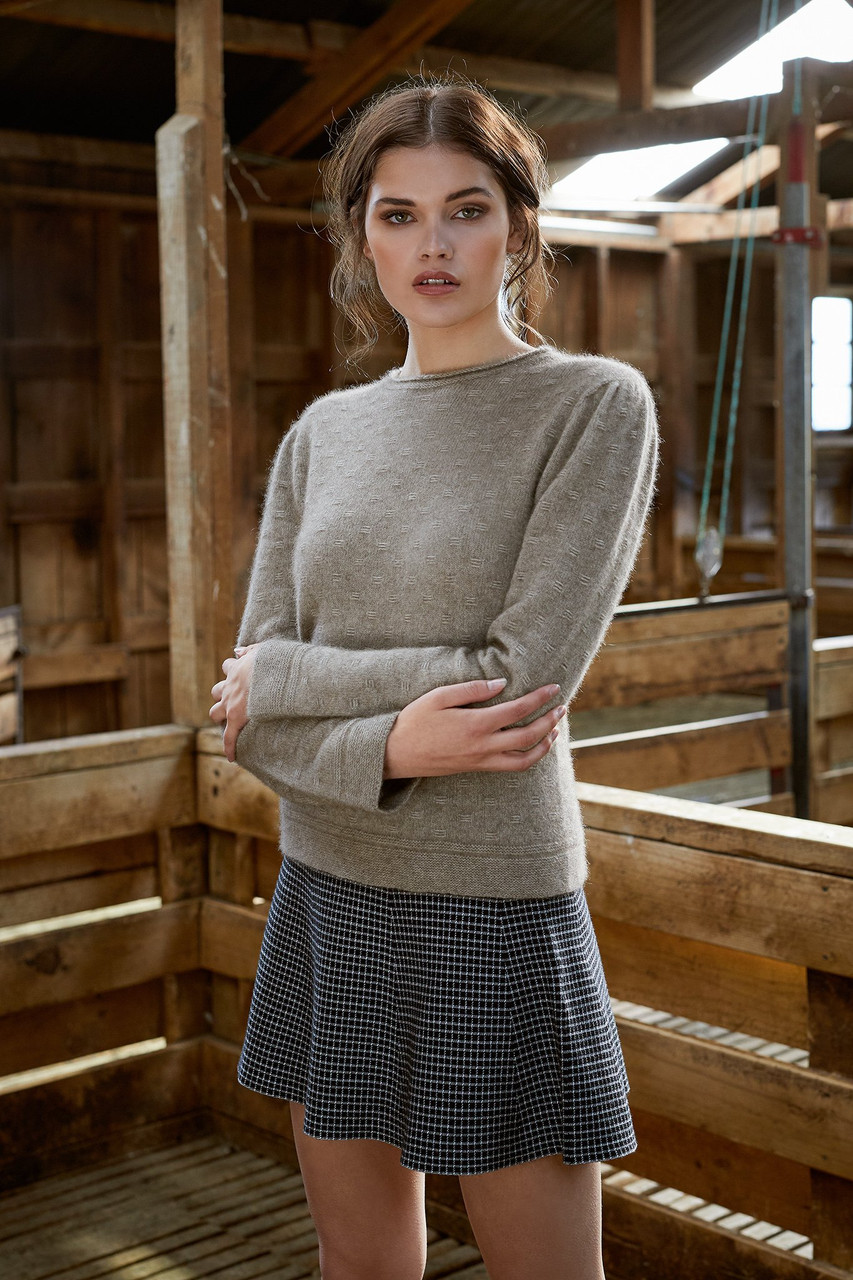 McDonald Float Stitch Sweater - Possum Merino 5027