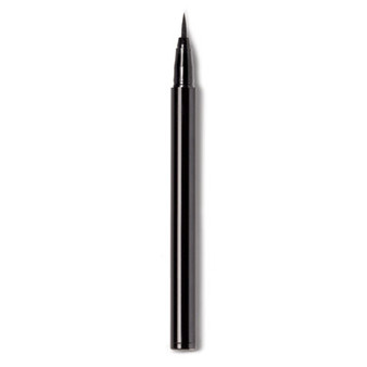 Modern liquid liner draws a high-pigment, flawless line. Features a super-fine felt tip for precise application. Dermatologically approved, opthalmologically approved. How To Use Draw liner across upper and lower lash lines, starting from the outer corner of eye. For high impact, apply slightly heavier at the outer corners. Hold eyeliner horizontally for even and precise application.