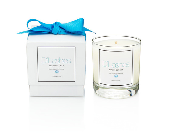 The D'Lashes Luxury Candle is the convergence of artistic souls who share a singular desire to create. Free of constraint and compromise. Fusing years of experience in the world of Beauty and Eyelashes.  D'Lashes now brings a luxury candle fragrance of sophisticated design. Our goal is to continually push boundaries while staying true to our core beliefs, ideal and lifestyle.  The collection is a love letter to the city that has nurtured, challenged and inspired us. Eash provocative fragrance is an intoxicating and blend of the finest perfumes and rare oils, evoking the true essence of life in sun drenched seductive Los Angeles.  Each Candle is hand-poured with a creamy blend of soy, palm and coconut wax ensuring a long, clean potently fragrant burn.