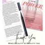 """Our D'Adhesive Eyeliner is """"All in the Press! WWDBeauty and LaunchPad featured this amazing Dual Action Eyeliner this month!"""