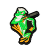 """""""Frankie The Frog"""" Patch"""