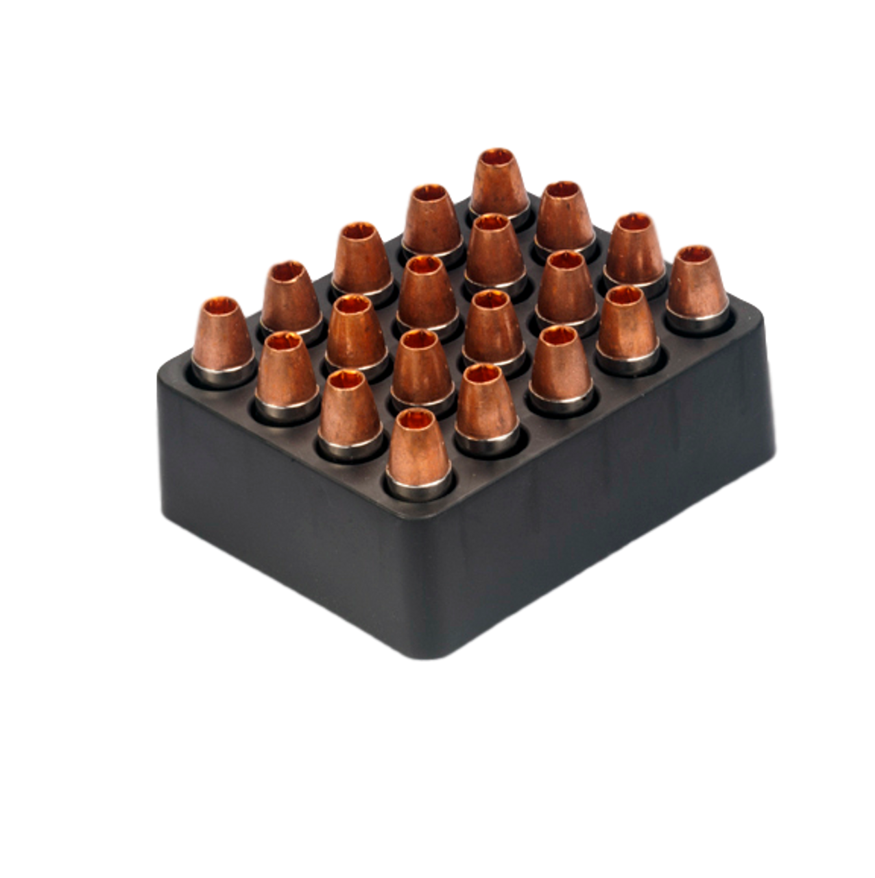 9mm Luger +P 115 gr. SCHP, (20-count box)