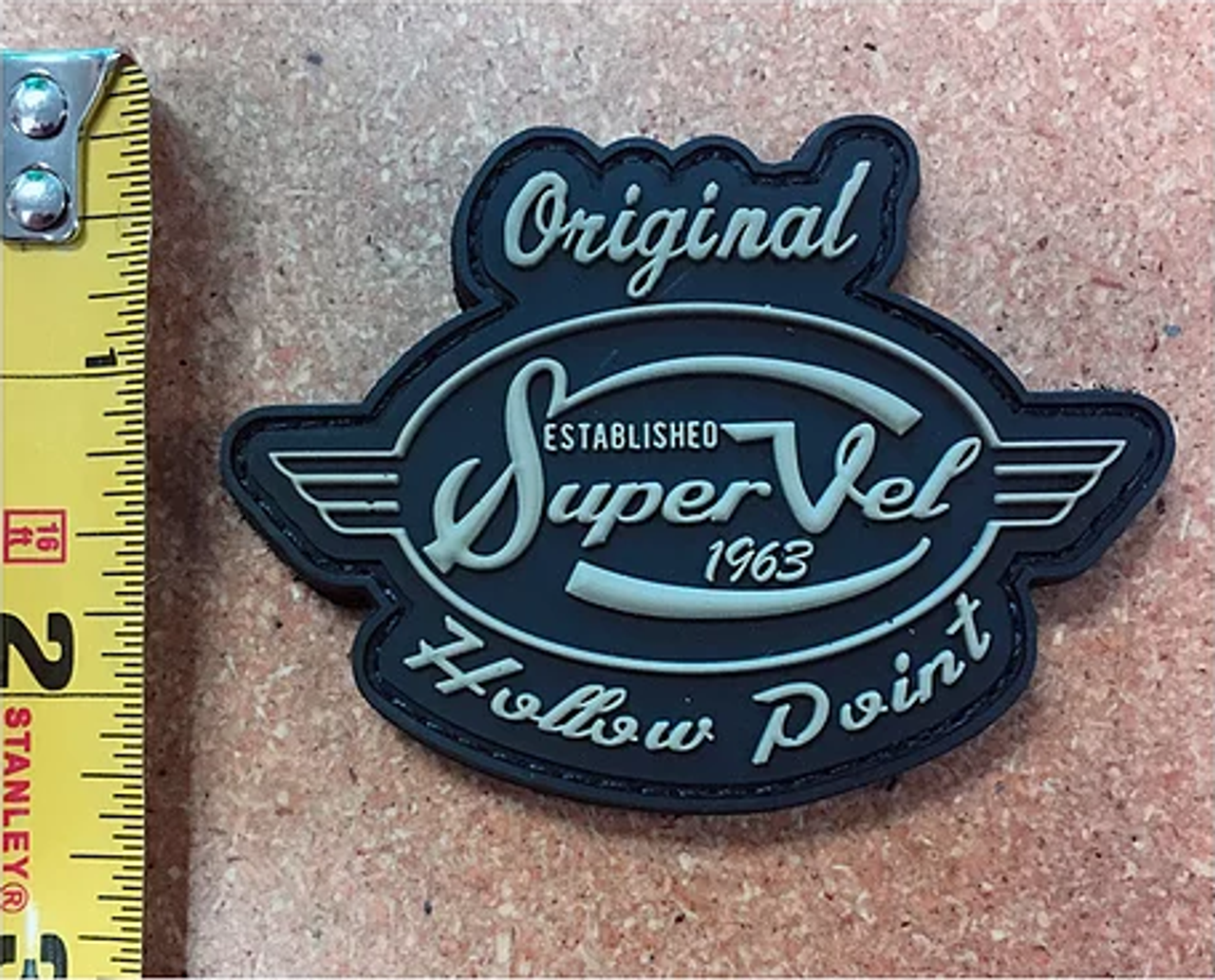 """Super Vel Retro Logo"" Patch"