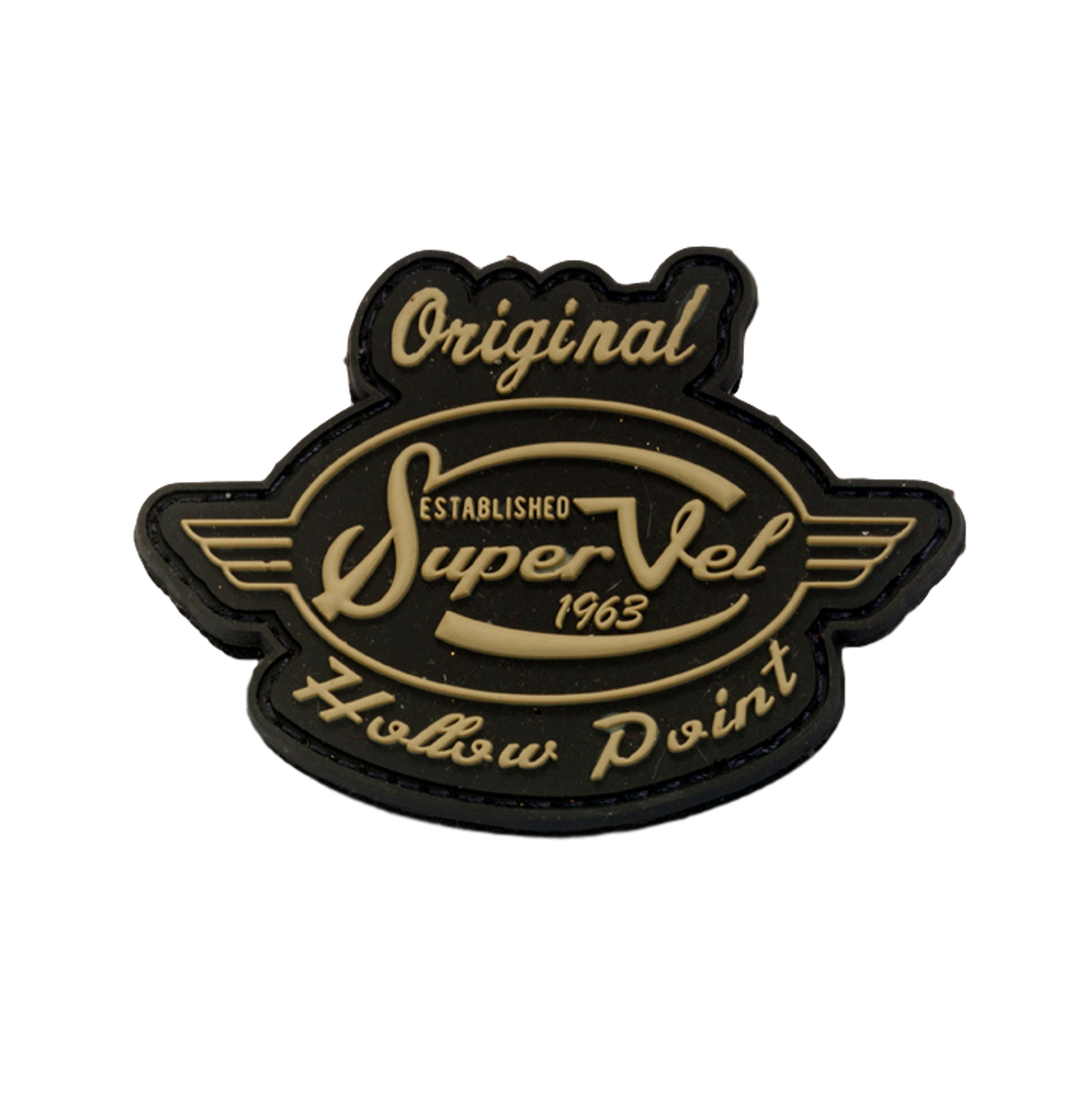 Super Vel Super Vel Retro Logo Patch