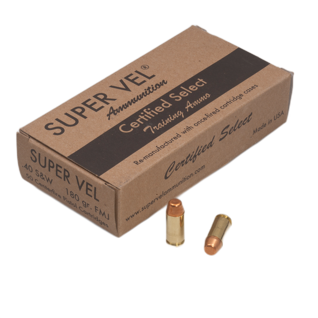 .40 S&W 180 gr. Competition Long  (50-count box)