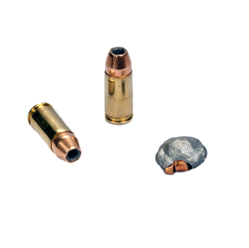 9mm Luger +P 115 gr. JHP (50 count box)