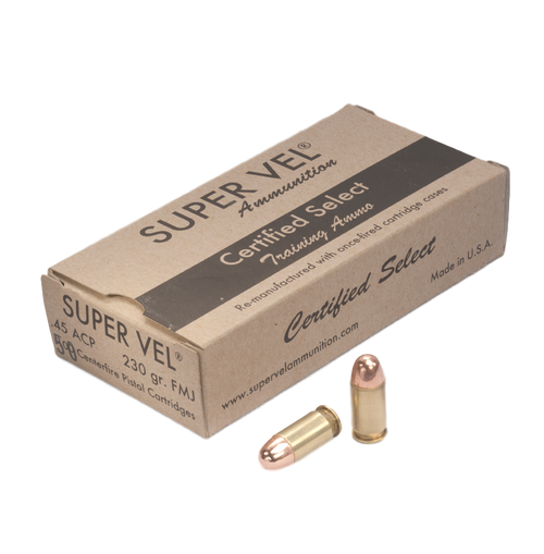 """.45 ACP 230 gr. FMJ """"Certified Select"""""""
