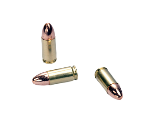 """Certified Select"" 9mm Luger 115 gr. FMJ  (100-count box)"