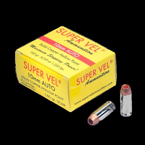 10mm Auto 160 gr. SCHP (20-count box)