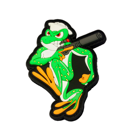 """Frankie The Frog"" Patch"