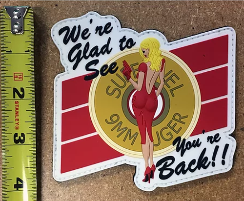 """Pin Up Girl"" Patch"
